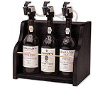WineKeeper The Vintner 3 Bottle Wine Dispenser Preservation - Black Cabinet