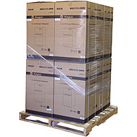 3.1 Cu. Ft. Two Door Counterhigh Refrigerator - White - Pallet of 8