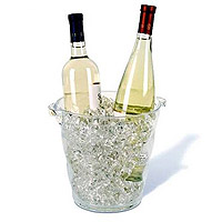 Monterey Acrylic Wine Cooler - Clear