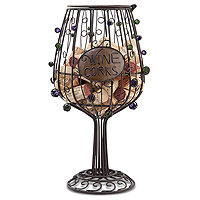 91-044 Wine Glass Cork Cage