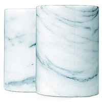 Marble Champagne Cooler - White