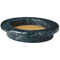 Green Marble Grande Wine Bottle Coaster