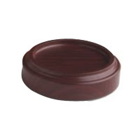 Wine Cellar Express Wine Coaster (magnetized insert) - Mahogany Finish