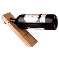 Single Bottle Wood Stand