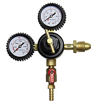 Premium Double Gauge Nitrogen Beer Regulator