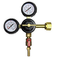 Premium Double Gauge Kegerator Beer Regulator