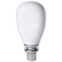 A5 White Ceramic Beer Tap Handle