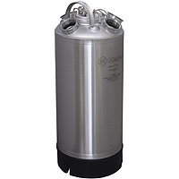 Inventory Reduction - 18 Litre Keg Beer Cleaning Can (install up to four different types of valves)