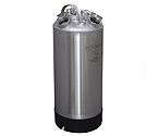Kegco 18 Litre Keg Beer Cleaning Can (install up to four different types of valves)