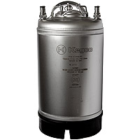 Inventory Reduction - Home Brew Beer Keg - Ball Lock 3 Gallon Strap Handle