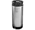 Kegco AB5G-RBO-D Keg - 5 Gallon Commercial Keg with Rubber Top and D System Sankey Valve