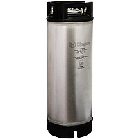 5 Gallon Ball Lock Keg - Rubber Handle - NSF Approved