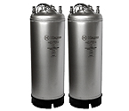 Kegco Kombucha Kegs - Ball Lock 5 Gallon Strap Handle - Brand New - Set of 2