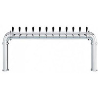 Stainless Steel Arcadia 12 Faucet - 3.3 Inch Column - Glycol Cooled