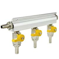 Aluminum Three-Way Air Distributor