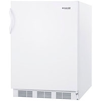 3.2 Cu. Ft. ADA Compliant All Freezer - White Cabinet & Door