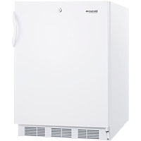 3.2 Cu. Ft. ADA Compliant Freezer - White Cabinet & Door w/ Lock