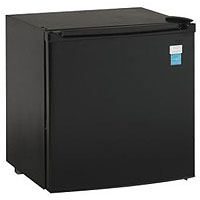 1.7 CF All Refrigerator Auto Defrost - Black