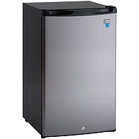 Avanti AR4456SS - 4.5 Cu. Ft. Counterhigh All Refrigerator - Black with Stainless Steel Door