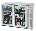 Beverage-Air BB48GY-1-S Back Bar Refrigerator w/Glass Doors - Stainless Steel