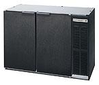 Beverage-Air BB48Y-1-B Back Bar Refrigerator - Black