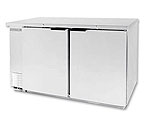Beverage-Air BB58-1-S Back Bar Refrigerator - Stainless Steel