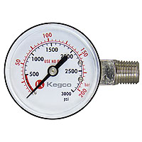 High Pressure Replacement Gauge - Left Hand Thread