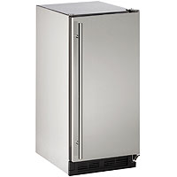 Outdoor Ice Maker - Stainless Steel Cabinet with Stainless Steel Door