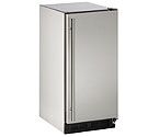 U-Line BI1215SOD-00A Outdoor Ice Maker - Stainless Steel Cabinet with Stainless Steel Door