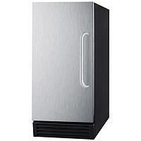 50 lbs. Built-in Ice Maker ADA Compliant - Stainless Steel Door