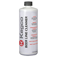 Beer Line Cleaner for Kegerators - 32 oz Bottle