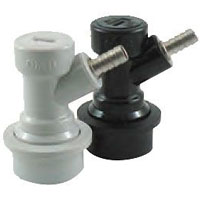 Ball Lock Becker Keg Home Brew Keg Tap - 1/4in. Barb