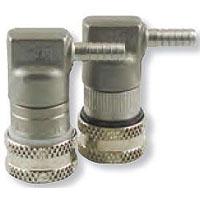 Stainless Steel Ball Lock Hansen Keg Home Brew Keg Tap - 1/4in. Barb