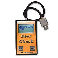Beer Check Gas Analyzer with Adapter Kit