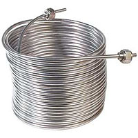 Jockey Box Stainless Steel Cooling Coil, Left Hand, 50' x 5/16