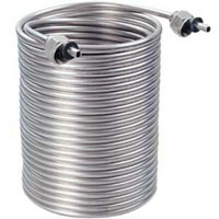 Jockey Box Stainless Steel Cooling Coil, 70' x 5/16