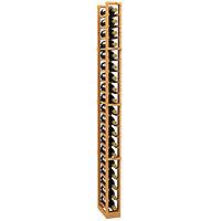 1 Column Wood Wine Rack