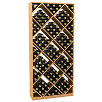 Diamond Wine Storage Bin