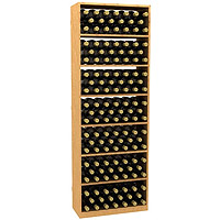 Solid Rectangular Wine Bin