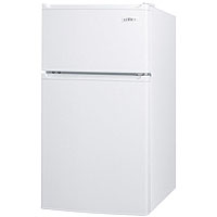 2.9 Cu. Ft. ADA Compliant - Two Door Compact Refrigerator-Freezer - White