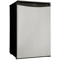 Danby DAR125SLDD 4.4 Cu. Ft. Counter High Refrigerator - Black Cabinet with Stainless Steel Door