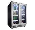 Danby Silhouette Professional DBC047D1BSSPR French Door Wine & Beverage Center