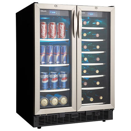 Danby DBC2760BLS Dual Zone Beverage Center