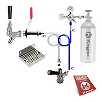 Deluxe Door Mount Kegerator Keg Tap Conversion Kit