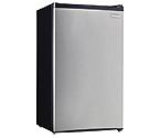 Danby DCR032C1BSLDD 3.2 cu.ft. Compact Refrigerator - Black with Stainless Steel Door
