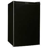 LAST ONE  4.3 Cubic Foot Counterhigh Compact Refrigerator - Black