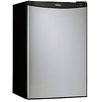 Danby DCR122BSLDD 4.3 Cubic Foot Counterhigh Compact Refrigerator - Black with Stainless Steel Door