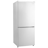 9.2 Cu. Ft. Frost Free Refrigerator with Bottom Mount Freezer - White