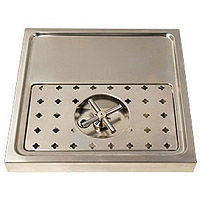 Stainless Steel Rinser Drain Drip Tray - 15 3/4