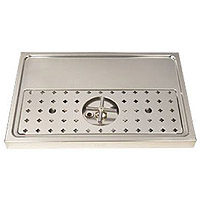 Stainless Steel Rinser Drain Drip Tray - 23 5/8